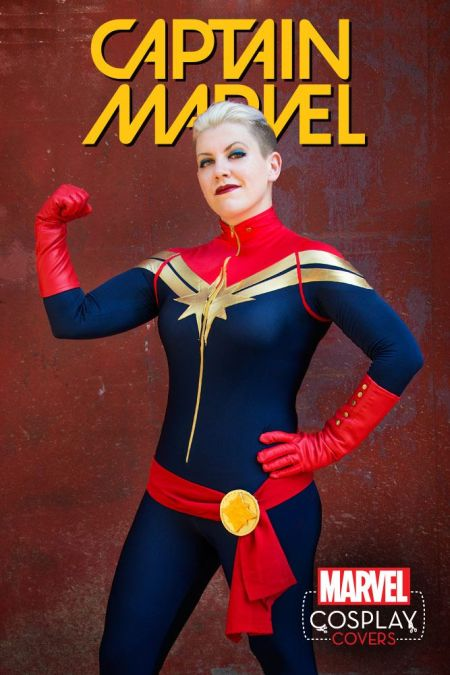 Captain Marvel #1 Cosplay Variant by Judy Stephens