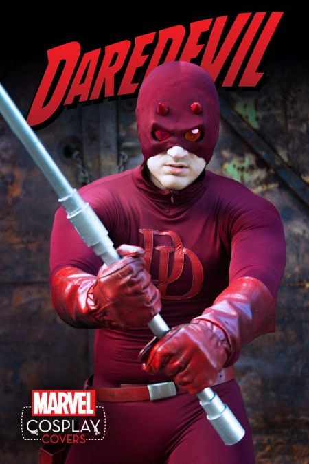Daredevil #1 Cosplay Variant by Patrick 'Rick' Lane