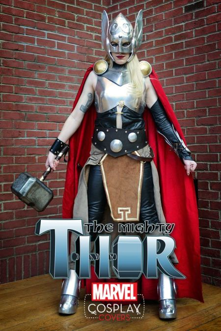 The Mighty Thor #1 Cosplay Variant by Sarah Jean Maefs