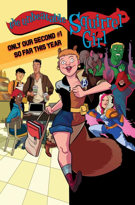 """Unbeatable Squirrel Girl"" #1"