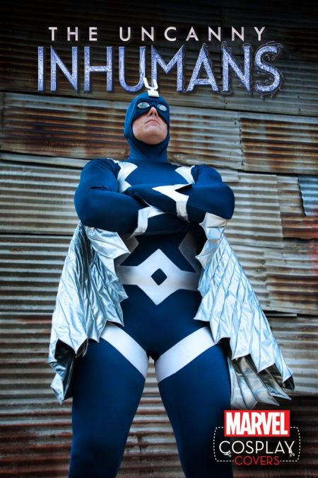 Uncanny Inhumans #1 Cosplay Variant by Kalel Sean