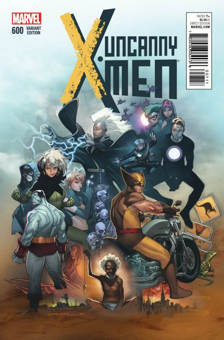 """Uncanny X-Men"" #600 Variant by Olivier Coipel"
