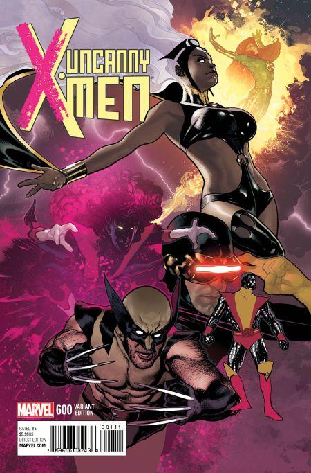 """Uncanny X-Men"" #600 Variant by Adam Hughes"