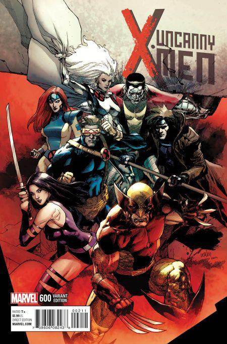 """Uncanny X-Men"" #600 Variant by Leinil Yu"