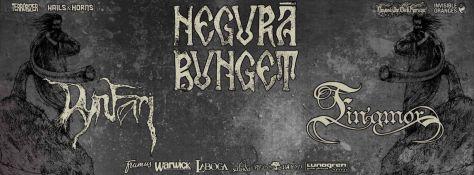 Poster - Negura Bunget at Nihil Gallery - 2015