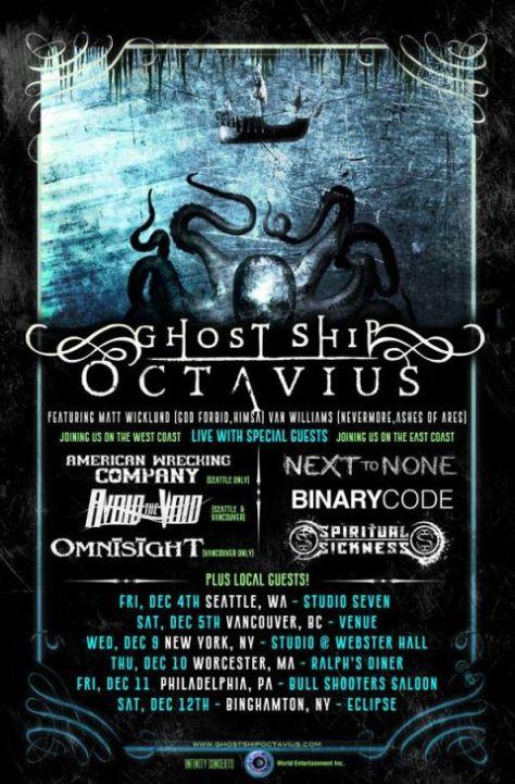 Tour - Ghost Ship Octavius - 2015