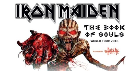 Tour - Iron Maiden - NA 2016