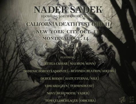 Tour - Nader Sadek - Fall 2015a