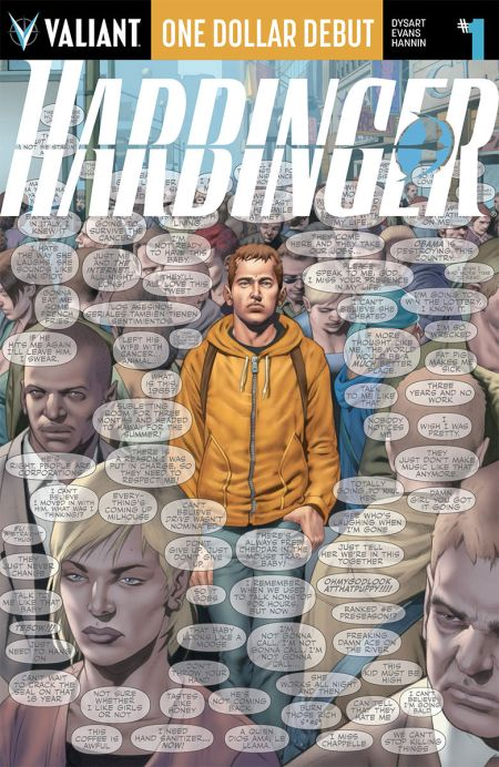 "One Dollar Debut: ""Harbinger"" #1"