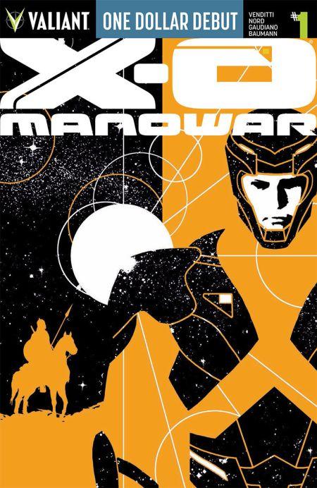 Comic - ODD X-O Manowar 1 - 2015