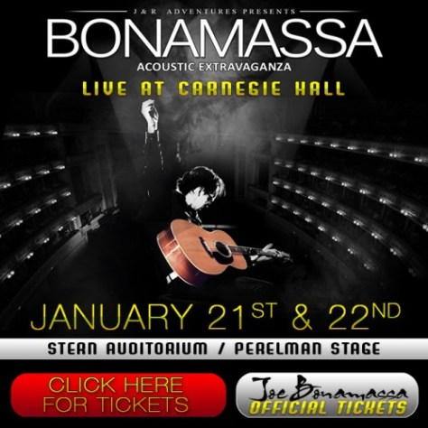 Poster - Joe Bonamassa at Carnegie Hall