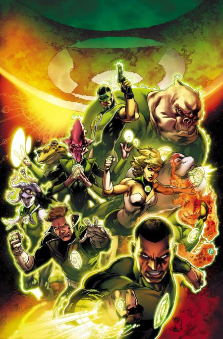 """Green Lantern Corps: Edge Of Oblivion"" #1"
