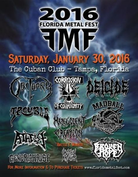 Tour - Florida Metal Fest - 2016