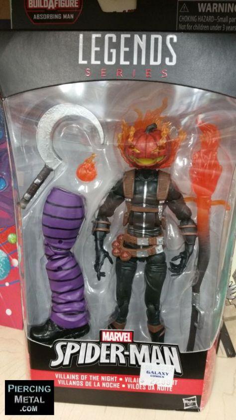 hasbro, hasbro toys, spider-man marvel legends, spider-man marvel legends action figures, build-a-figure absorbing man