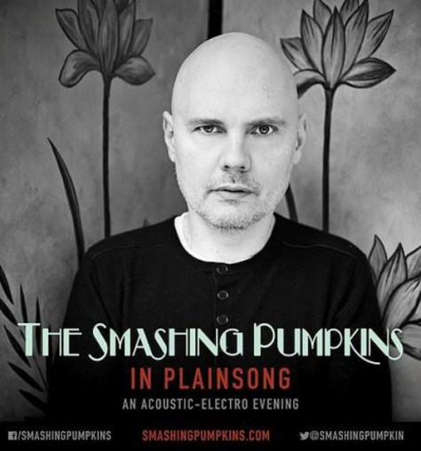 Tour - Smashing Pumpkins - In Plainsong 2016