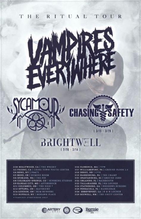 Tour - Vampires Everywhere - Ritual Tour 2016