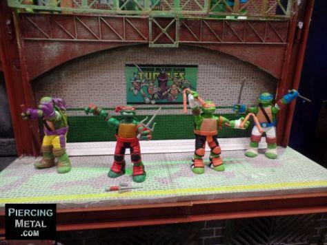 playmates toys, teenage mutant ninja turtles, toy fair 2016