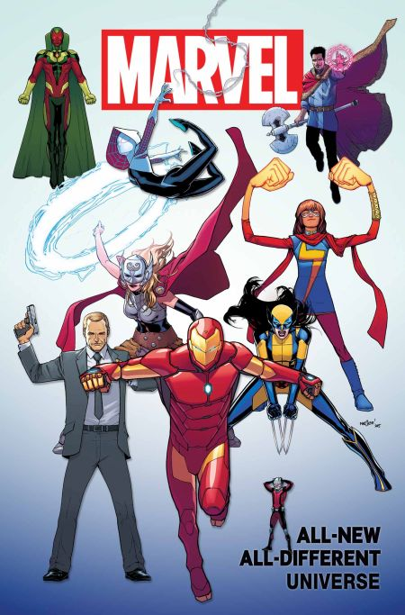 """All New All Different Marvel Universe"" #1"