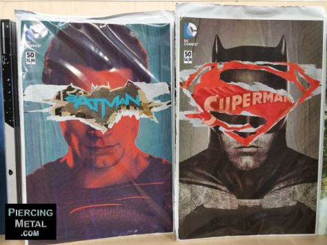 Comics - Batman V Superman Covers - 2016