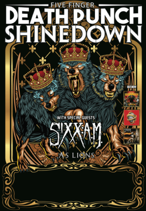 Tour - FFDP and Shinedown - Summer 2016