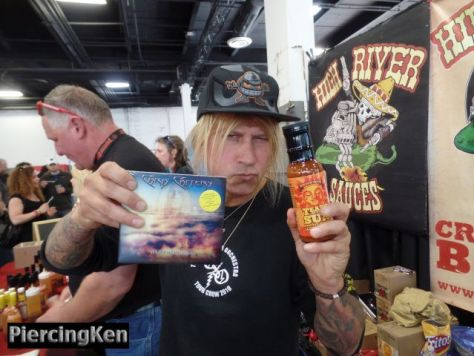 nyc hot sauce expo, nyc hot sauce expo photos, chris caffery