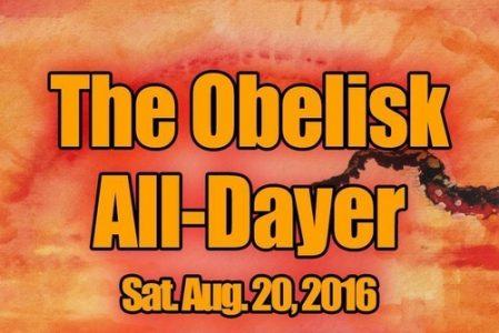 Poster - The Obelisk - All Dayer 2016