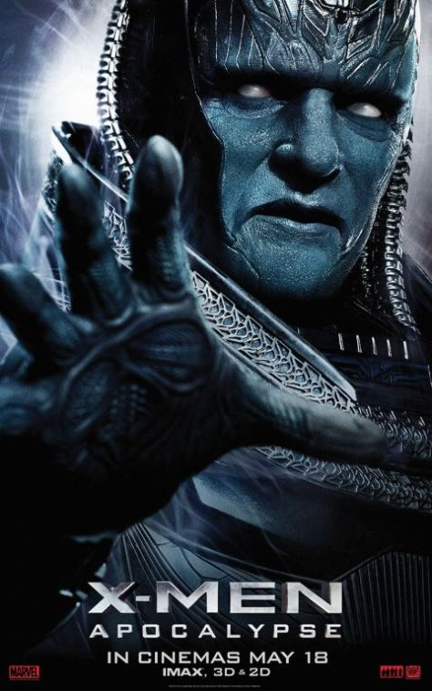 movie posters, promotional posters, 20th century fox, x-men: apocalypse