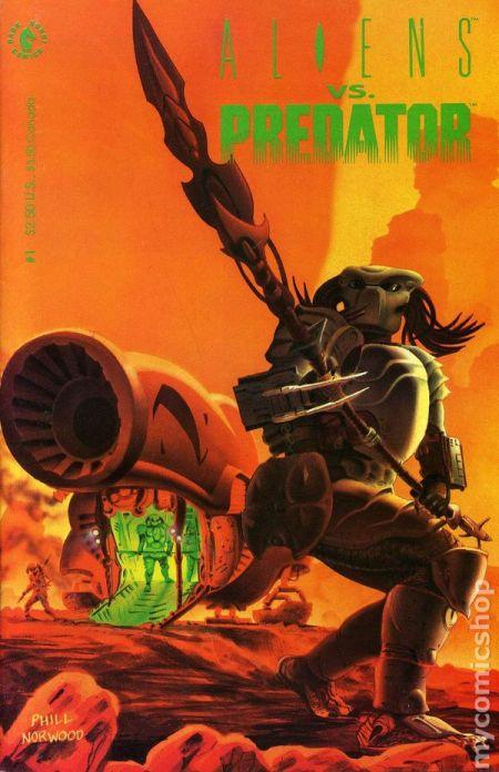 """""""Aliens Vs. Predator"""" #1 (1990)"""