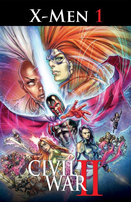 """Civil War II - X-Men"" #1"