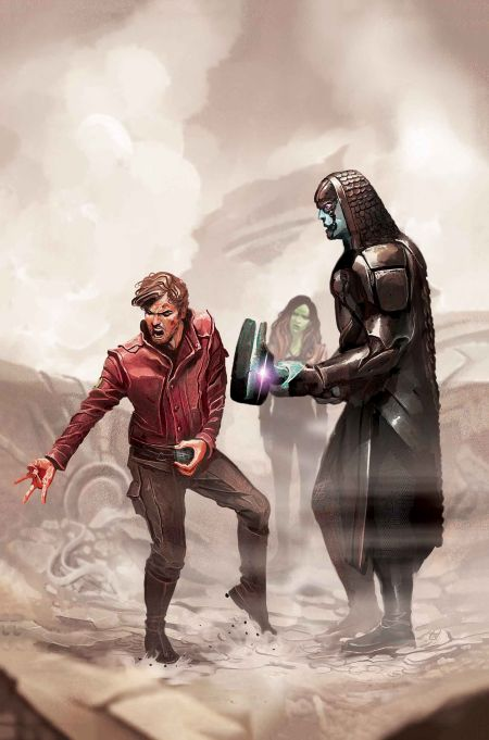 Comic - Marvel Cinematic Universe Handbook - Guardians Of The Galaxy - 2016