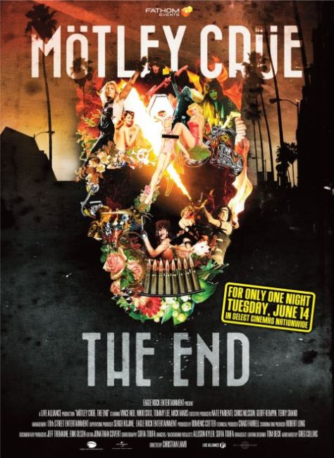 Poster - Motley Crue The End - One Night Only - 2016