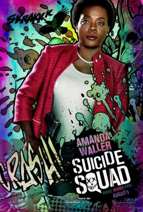 Poster - Suicide Squad Character 2 - Amanda Waller