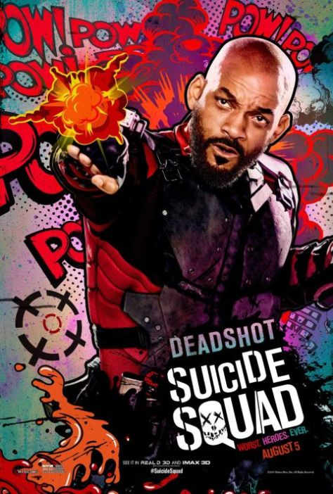 Poster - Suicide Squad Character 2 - Deadshot