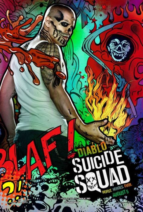 Poster - Suicide Squad Character 2 - Diablo