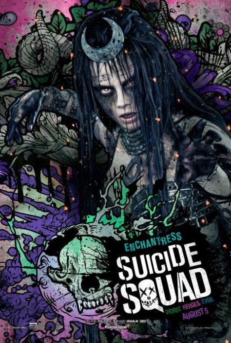 Poster - Suicide Squad Character 2 - Enchantress