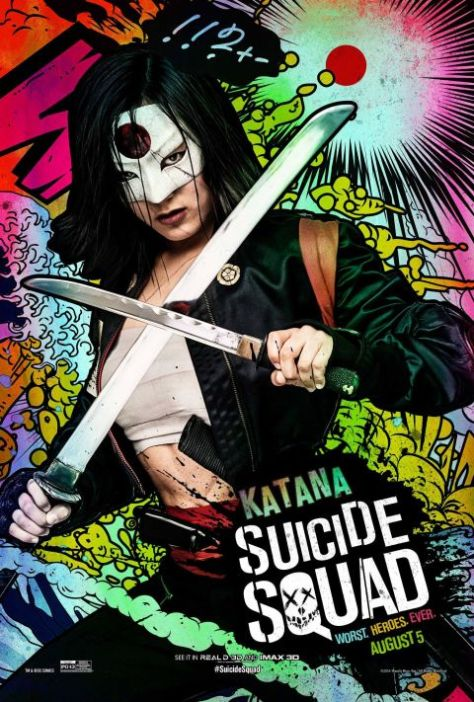 Poster - Suicide Squad Character 2 - Katana