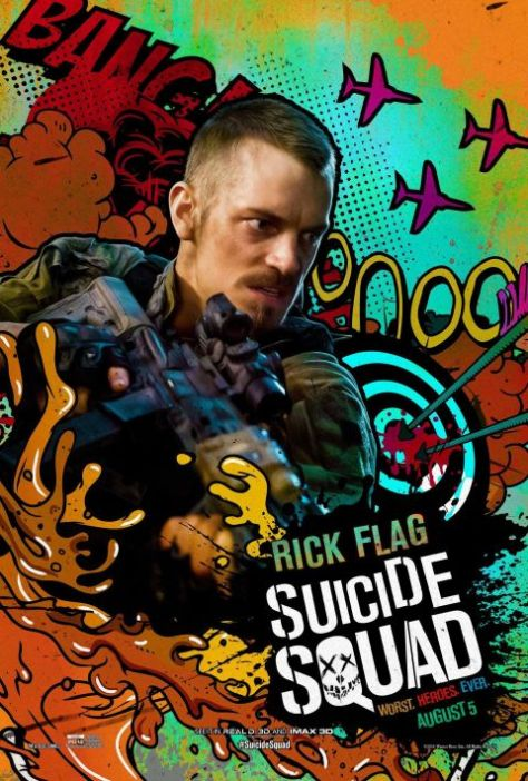 Poster - Suicide Squad Character 2 - Rick Flag