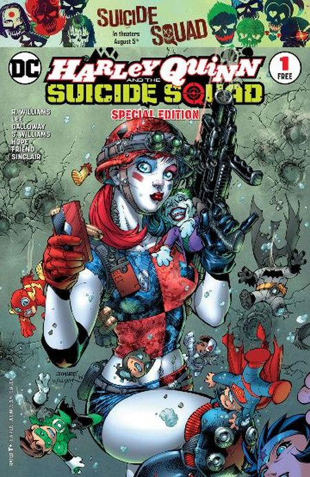 Comic - Harley Quinn and the Suicide Squad Special Edition 1 - 2016