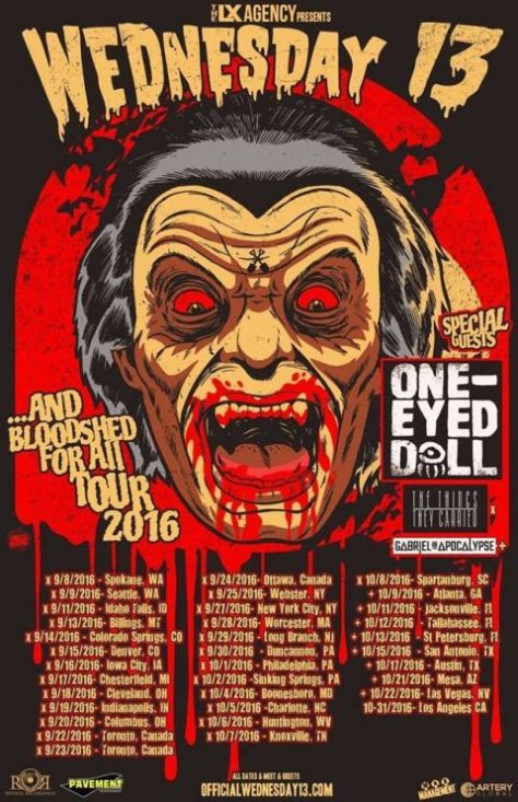 Tour - Wednesday 13 - Fall 2016