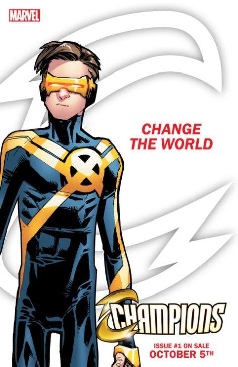 marvel comics, champions - change the world, champions