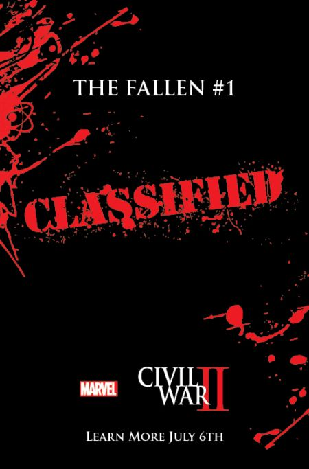 """Civil War II: The Fallen"" #1"