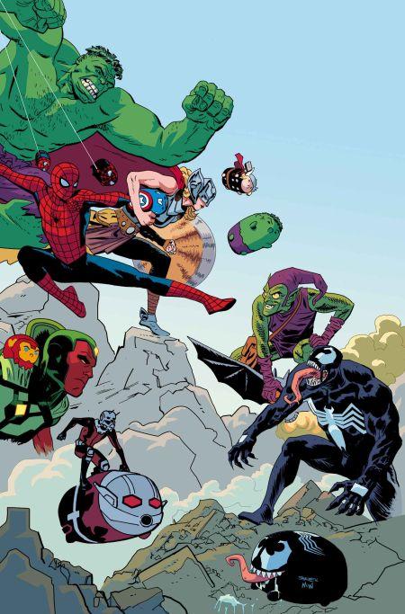 """""""Marvel Tsum Tsum"""" #1"""