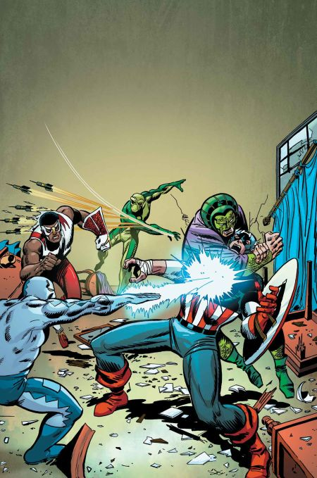 """Captain America: Serpents Unite"" #1"