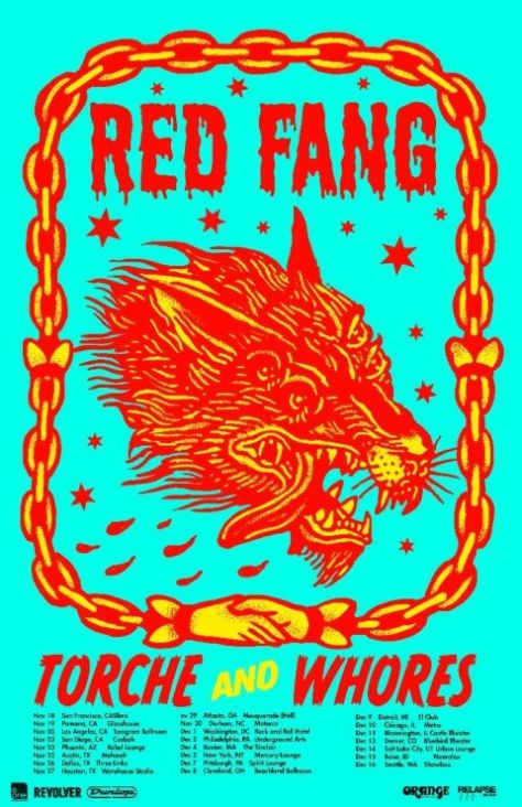Tour - Red Fang - Fall 2016