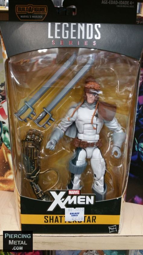 hasbro toys, marvel legends series, build-a-figure, x-men action figures
