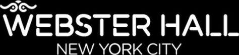 webster hall venue logo