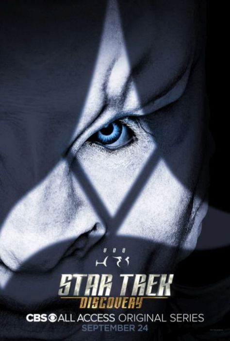 star trek: discovery posters