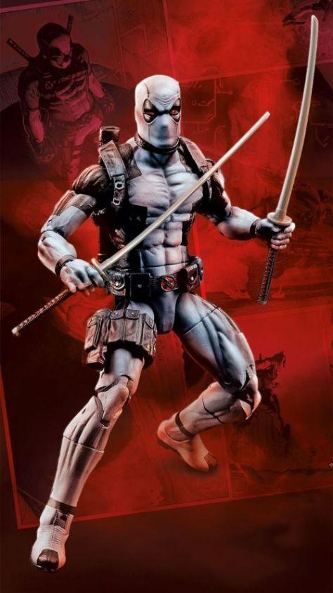 hasbro, action figures, marvel legends series, deadpool
