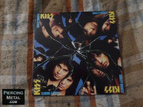 kiss, crazy nights album, album covers
