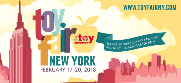 toy fair 2018 banner